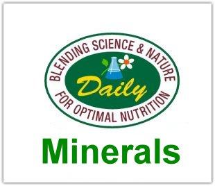 Minerals Supplements