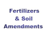Fertilizers and Soil Amendments