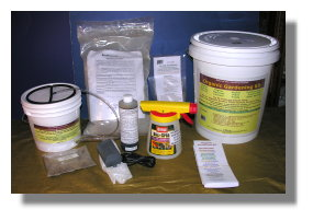 Organic Gardening Kit - one gal brewer version - Ship 29 lbs 12x12x14 box - FedEx
