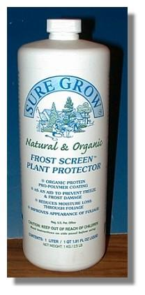 Sure Grow Frost Screen Plant Protector - Shipping - 4 Lbs