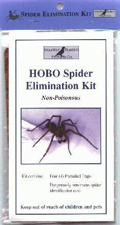 "The ""Spider Elimination Kit"" 5-pack."
