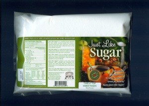 1 lb package of Just Like Sugar for Table Top.